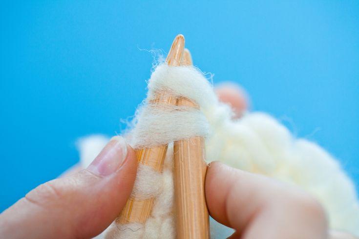 Stricken lernen: So wird Dein Strickstück schmaler  - kinitti.de