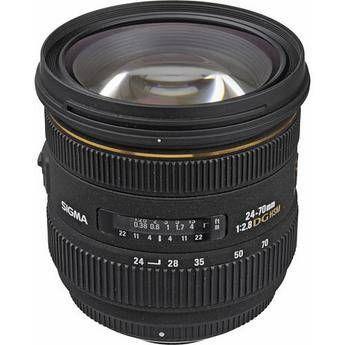 Sigma 24-70mm f/2.8 IF EX DG HSM Autofocus Lens for Nikon AF $899