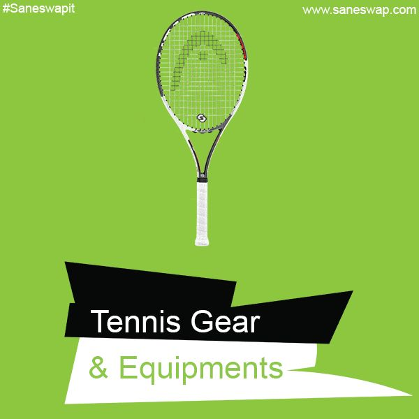 Buy tennis accessories online@best prices on Saneswap.com. Choose from our advanced range of equipment if you are looking for the best tennis gear.