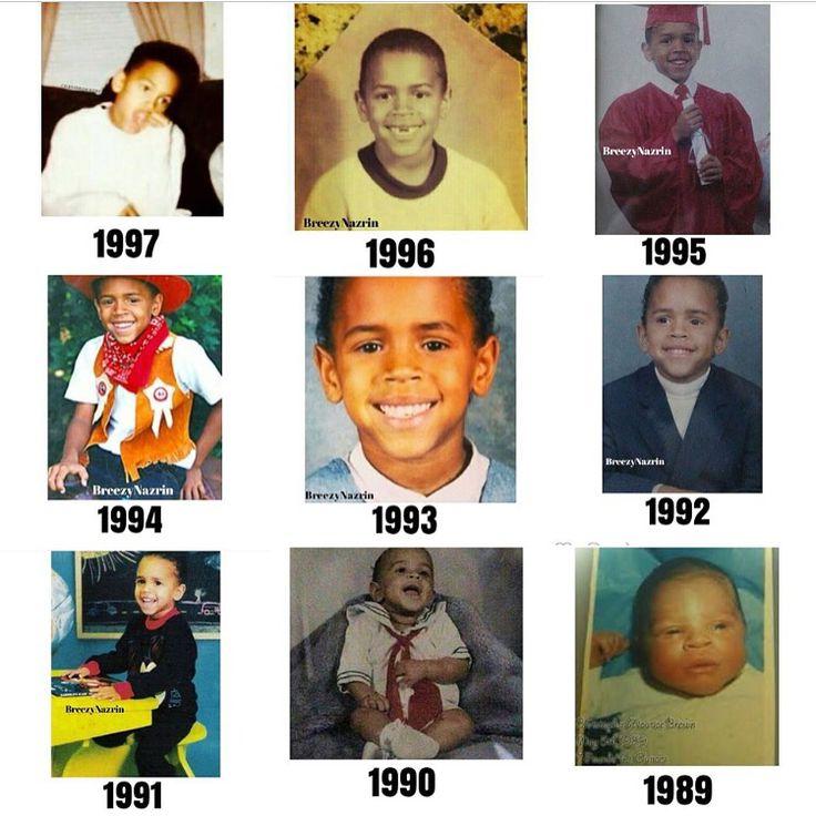Baby Chris Brown  Breezy too cute