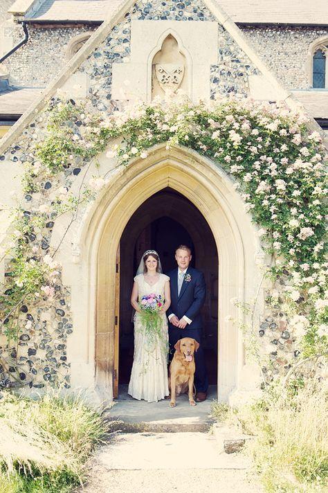 4-Legged Wedding Guest Portrait