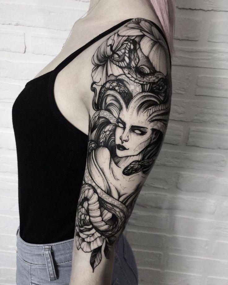 Medusa Artwork Tattoo: The 25+ Best Medusa Tattoo Ideas On Pinterest