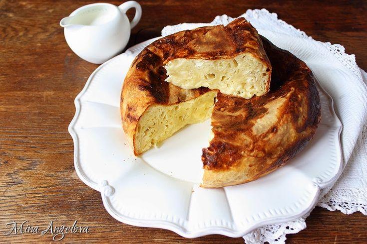 Вита баница с мляко и сирене в Мултикукър / Bulgarian Milk and Cheese Phyllo Pie a.k.a. Banitsa in Multicooker
