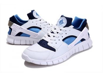 Cheap Nike Huarache Free Mens Run Trainers Size UK 11 LE White / Blue Sale UK -Nike Huarache Free