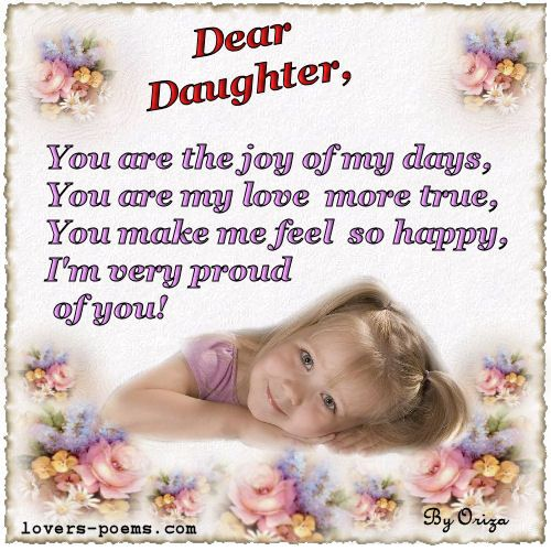 ... daughter, birthday quotes son, birthday poem for daughter, birthday