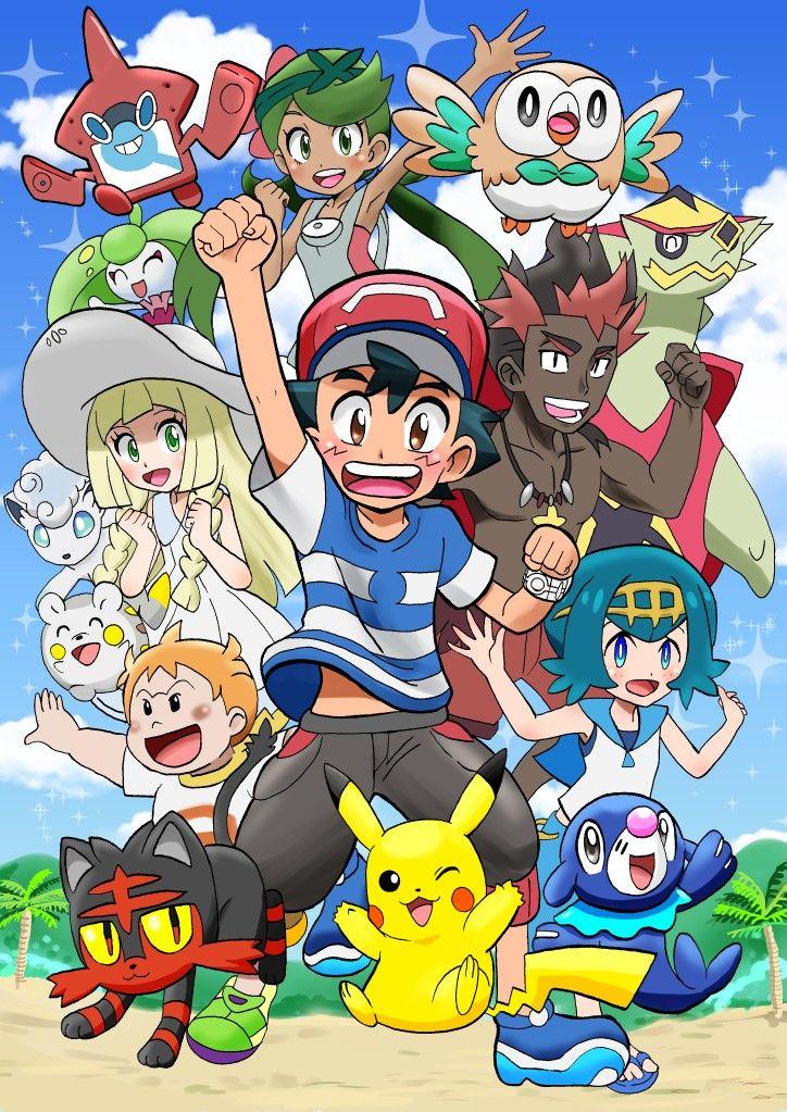 Alola Pokemon Kalos Pokemon Heroes Pokemon