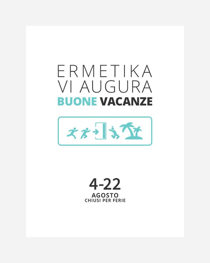 Mail Marketing per Ermetika per le vacanze estive