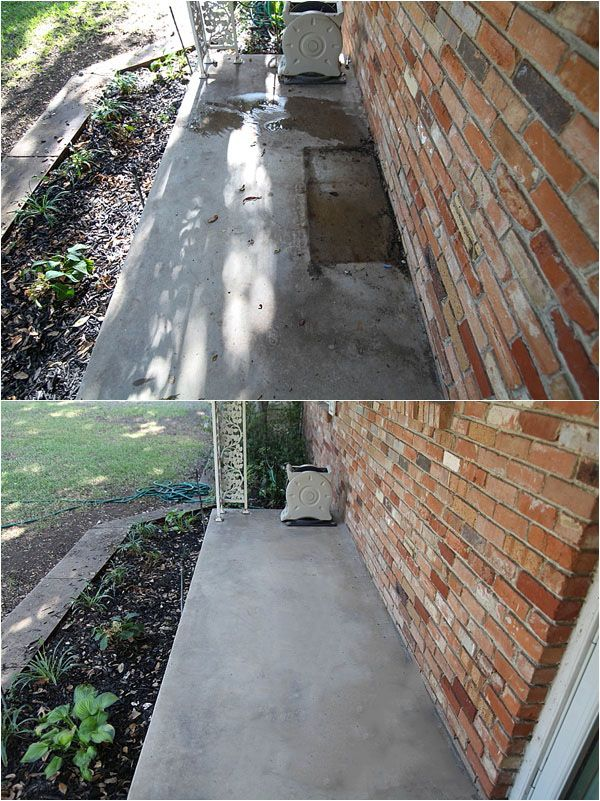 How To Clean Concrete The Easy Way Porches Patios Driveways More With Images Clean Concrete Cleaning Hacks Clean Dishwasher