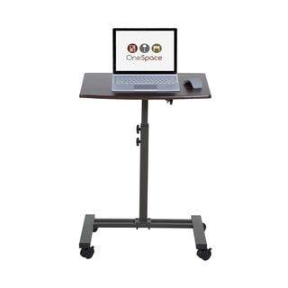 Shop for OneSpace 50-JN02 Angle- and Height-Adjustable Mobile Laptop Computer Desk. Free Shipping on orders over $45 at Overstock.com - Your Online Office Furniture Store! Get 5% in rewards with Club O! - 18877688