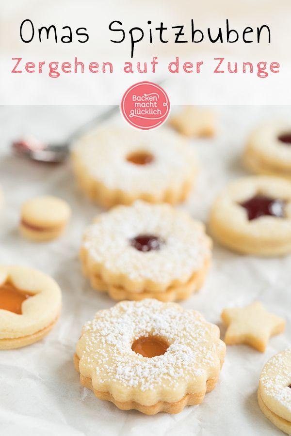 Weihnachtskekse Klassiker.Die Besten Spitzbuben рецепт печенье печенье
