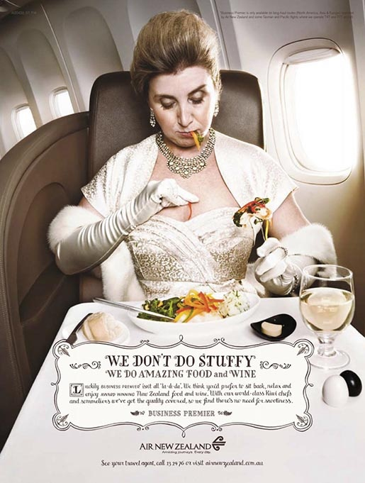 Air New Zealand Don't Do Stuffy | The Inspiration Room