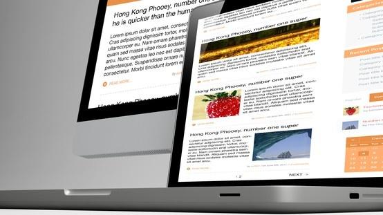 Booking blog design