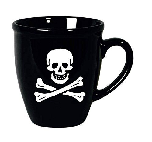 Taza Mug Calavera Pirata