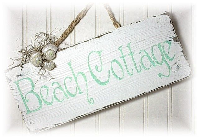 Coastal Decor Shabby Chic: Cottage Beach Shabby Chic Porch