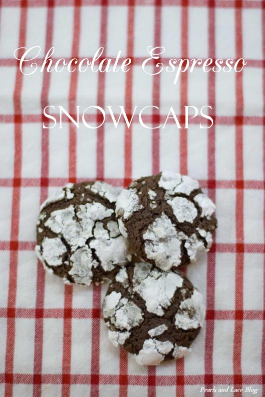 Chocolate Espresso Snowcaps | Sweet Tooth | Pinterest