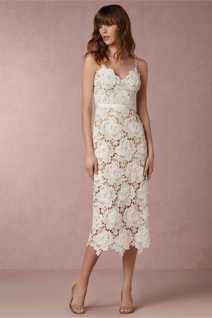 BHLDN Frida Dress in  Bride Reception Dresses at BHLDN