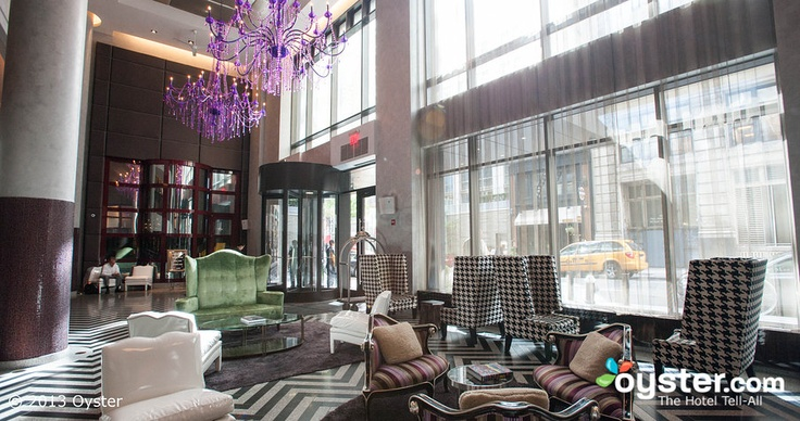 Lobby at the Gansevoort Park Avenue - Gandia Blasco party.