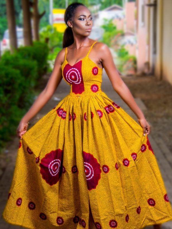 Jedidah Backless maxi dress(yellow) – Zuvaa