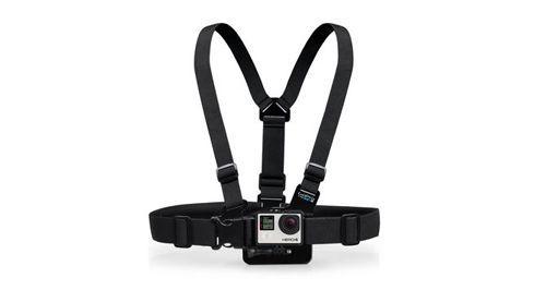Harnais de fixation pour caméra embarquée GoPro