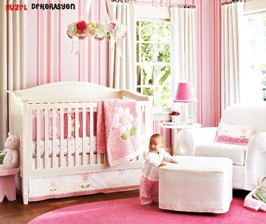 Pembe bebek odaları yeni doğan kız bebeklerine en güzel armağanlardan biri olacaktır.