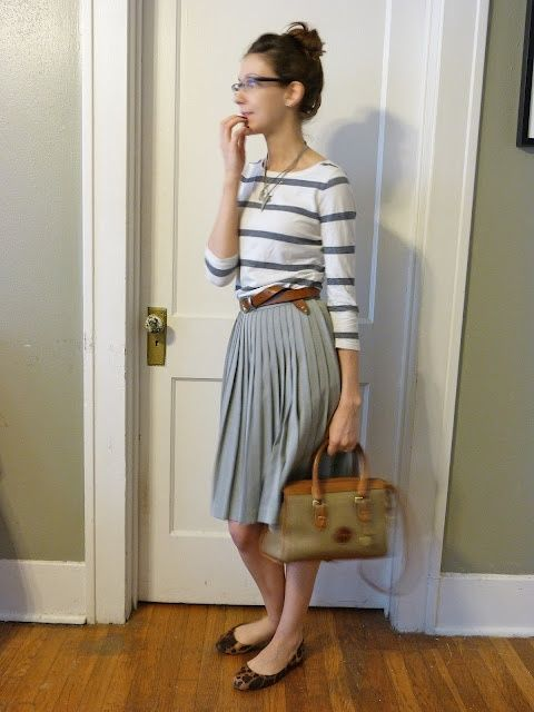 How to: work the pleated midi skirt | Mummy of Style & Substance