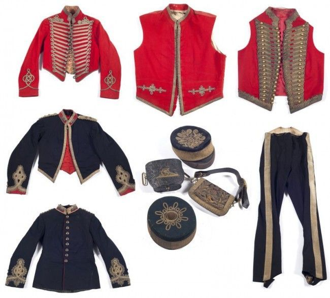 British Victorian Artillery Uniform Grouping for a Scottish field officer serving in India