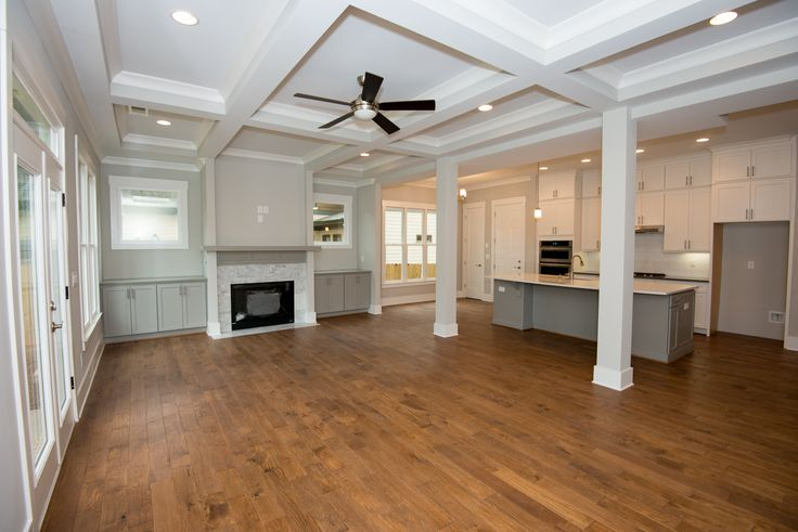 Cooper Homes | Interior | Craftsman | Atlanta Builder | Decorative Ceiling | Moulding   To see  available homes visit our Current Projects page on our website