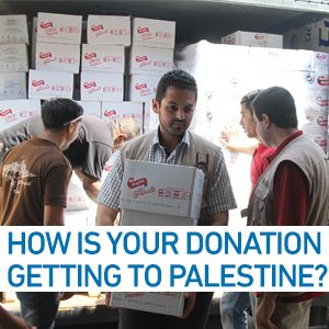How does your donation get to Palestine?