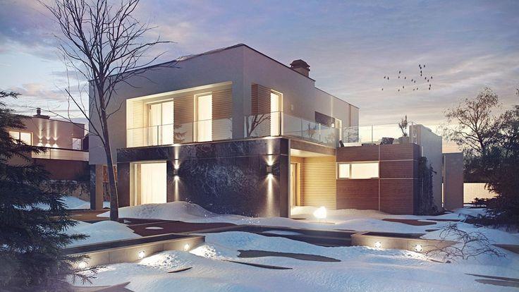DOM.PL™ - Projekt domu SZ5 Zx64 CE - DOM OZ7-14 - gotowy projekt domu