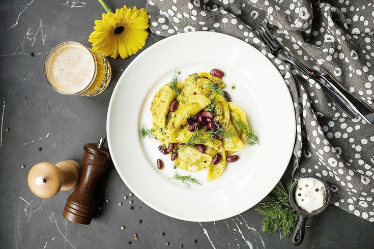 How to Green | Рецепт вареников с красной фасолью