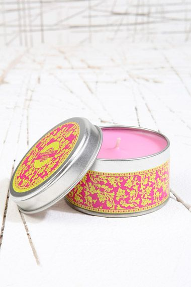Raspberry & Papaya Candle at Urban Outfitters