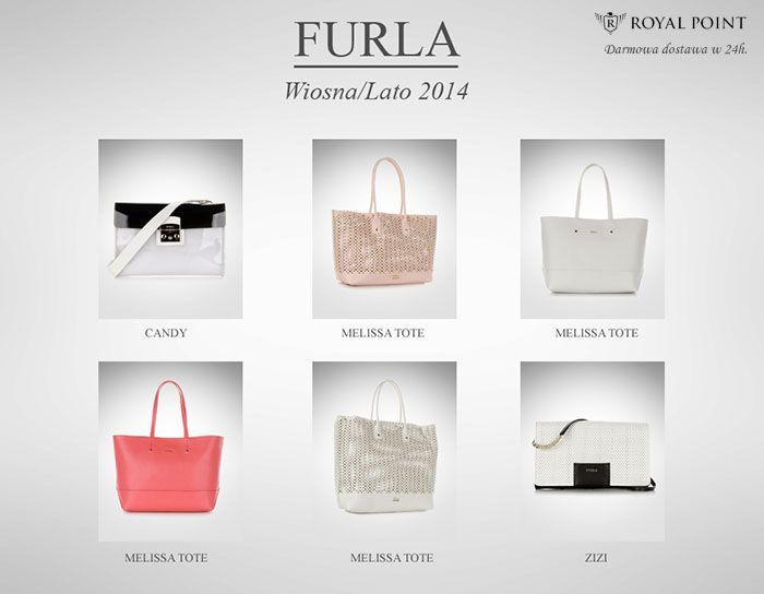 Furla w RoyalPoint.pl. Kolekcja wiosna/lato 2014.