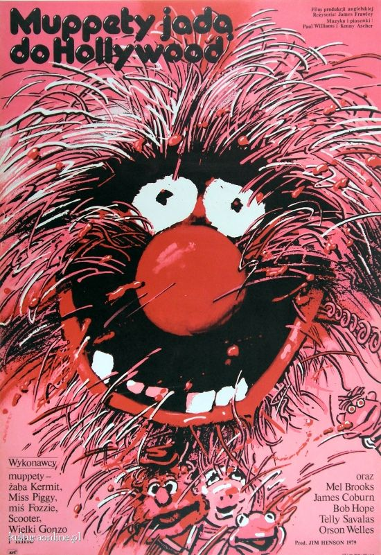 #polishdesign #movieposter #muppets
