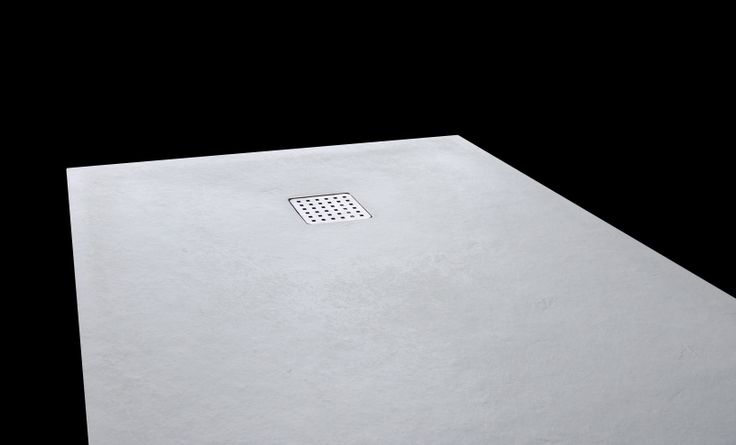 Solid shower tray by Inbani #bathroom #design