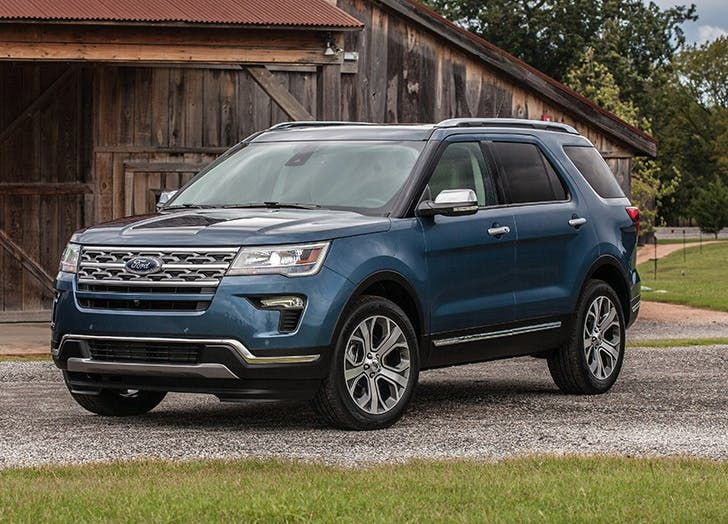 The Best 3 Row Suvs From Luxury To Affordable Purewow Ford Explorer 2019 Ford Explorer Suv