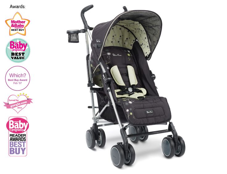 The Dandelion Pop Lightweight Buggy From Silver Cross