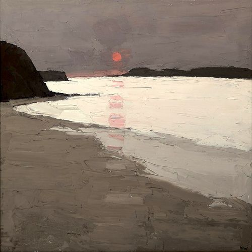 Sir Kyffin Williams (Welsh, 1918-2006), Morfa Conwy (by BoFransson)