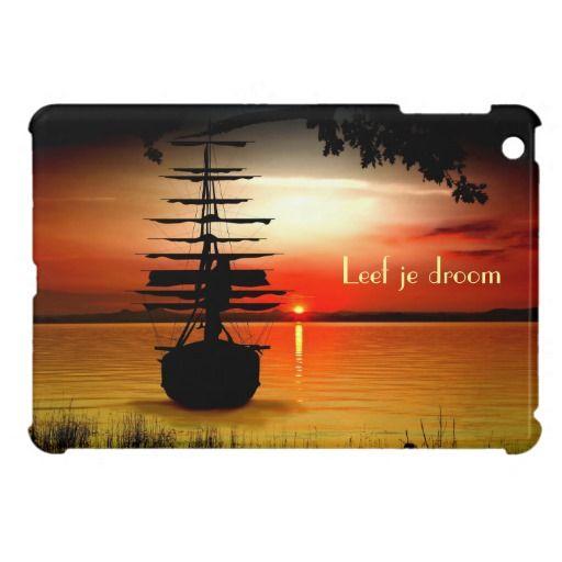 Leef je droom iPad mini Hülle