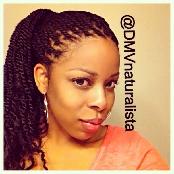 black hair styles for top 25 best small marley twists ideas on 4174
