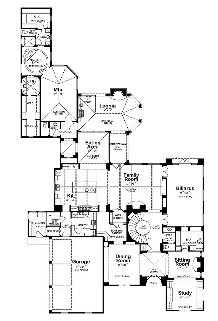 101 best dream home floor plans images on pinterest dream homes first floor of my dream home take the long interior wall of the billiards room
