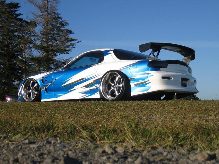 Mazda RX 7 Hard Tuning