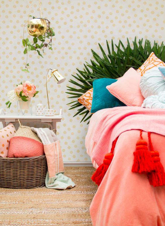 Kip & Co bedding x Rice wallpaper