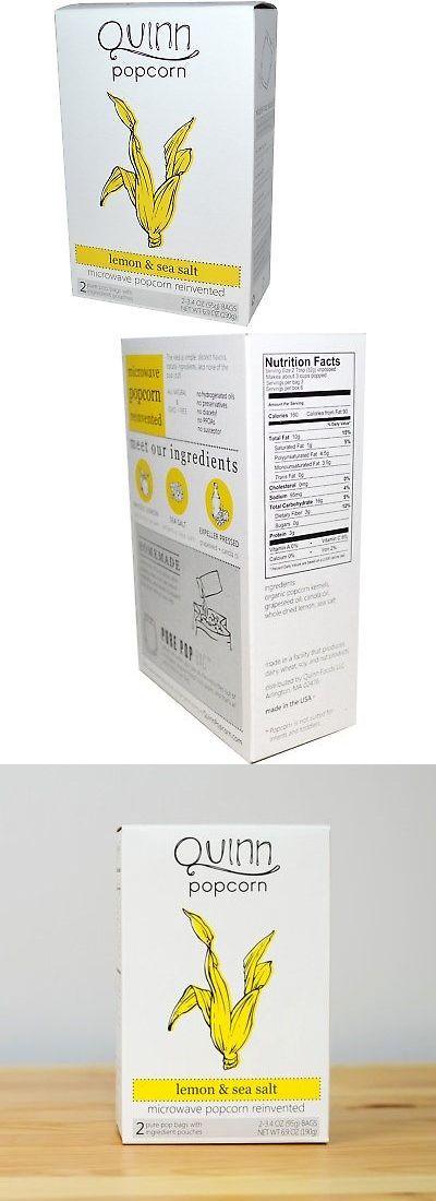 Popcorn 179181: Quinn Popcorn, Popcorn, Lemon And Sea Salt -> BUY IT NOW ONLY: $37.07 on eBay!