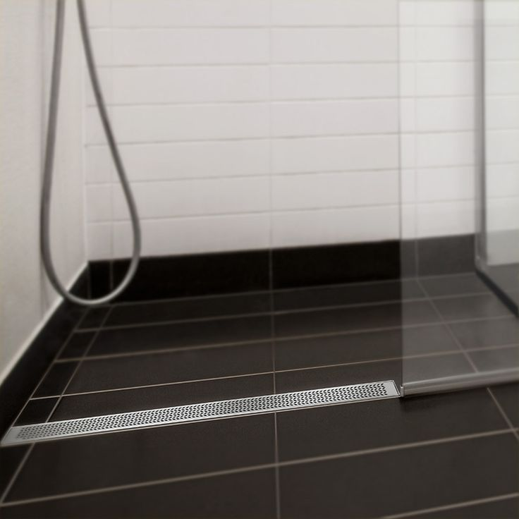 "Buy QM Drain 33.100.05 Delmar Series Nami Line Linear Drain 36"" x 3-3/8"" 