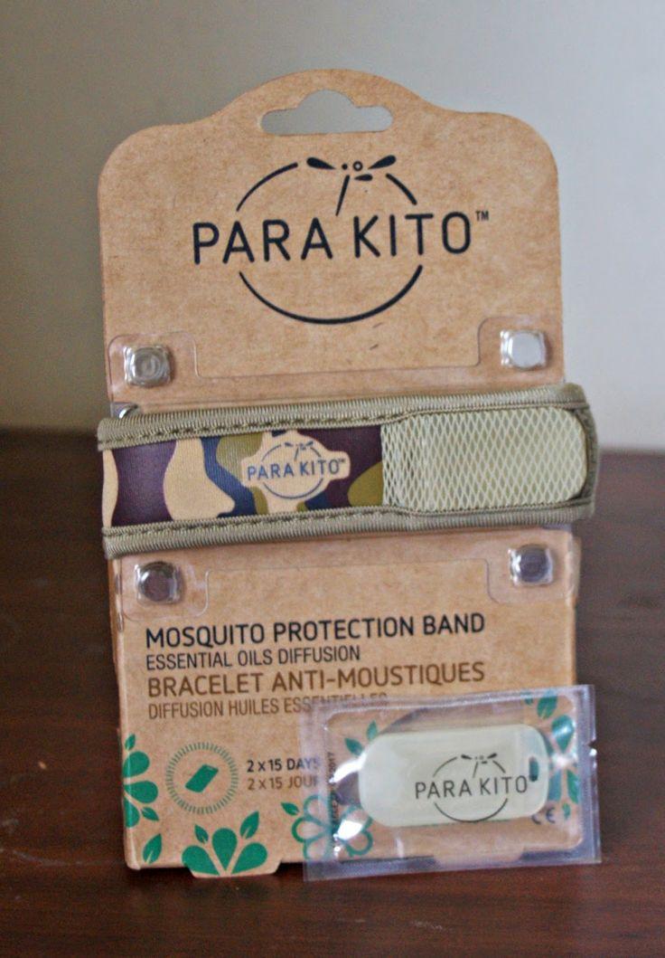Para kito Mosquito protection Band Review #Natural #mosquito #reviews #blogpost #Parakito