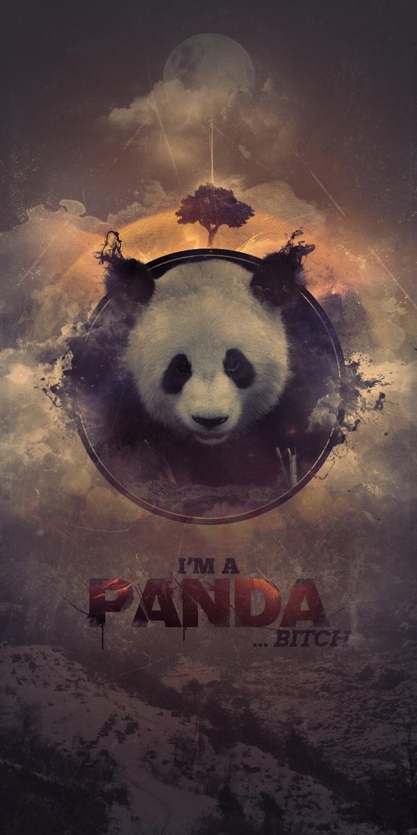 i 39 m a panda by viktor hugosson via behance design art pinterest panda behance and sketches. Black Bedroom Furniture Sets. Home Design Ideas
