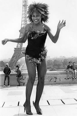 Tina Turner by Bob Gruen (1984)