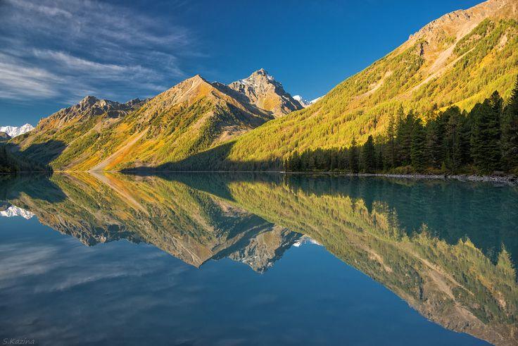 Lake Kucherla (Кучерлинское) in Altai Mountains