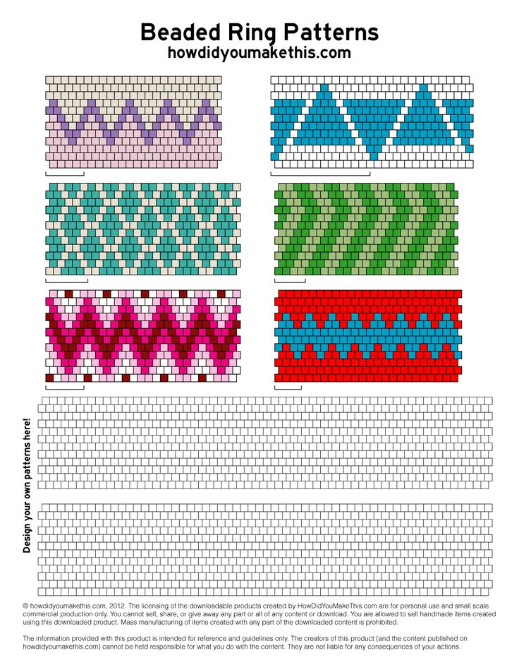 peyote ring patterns - Google Search