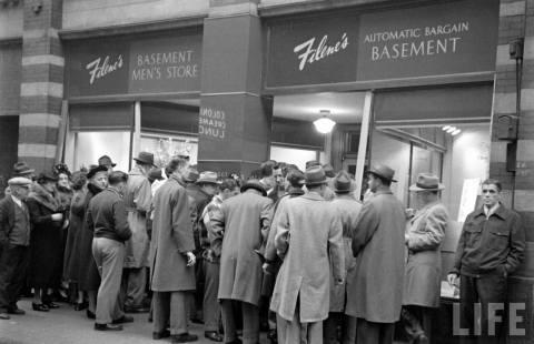 1930s vintage fashion forward filene s basement boston 1949 filene s